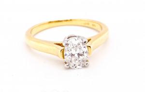 A Tiffany diamond