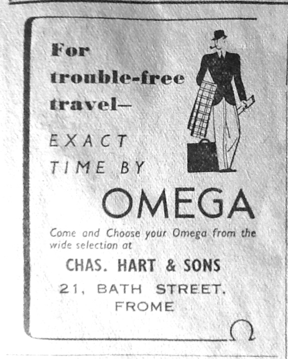 An advert for our company in 1938!